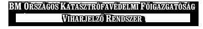 BM OKF Viharjelző Rendszer