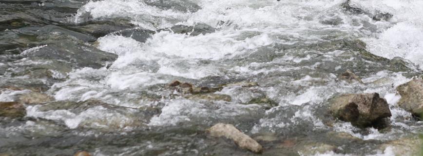 Vízügyi és vízvédelmi információk aloldal fejlécképe