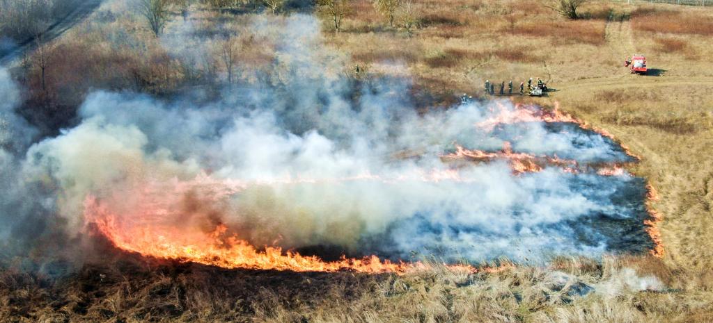 A tűzvédelemről aloldal fejlécképe