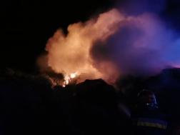 Gallytároló égett Karcagon