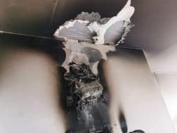 Villanyóra égett egy kisújszállási házban