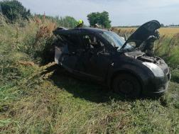 Vonat és autó ütközött egy vasúti átjáróban Tiszaföldvárnál