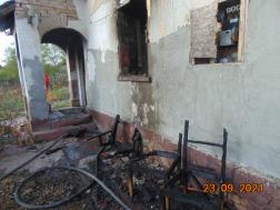 Kigyulladt egy ház Csépán